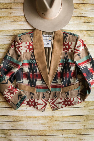 Vintage Southwest Cropped Jacket - Cowgirl Relics