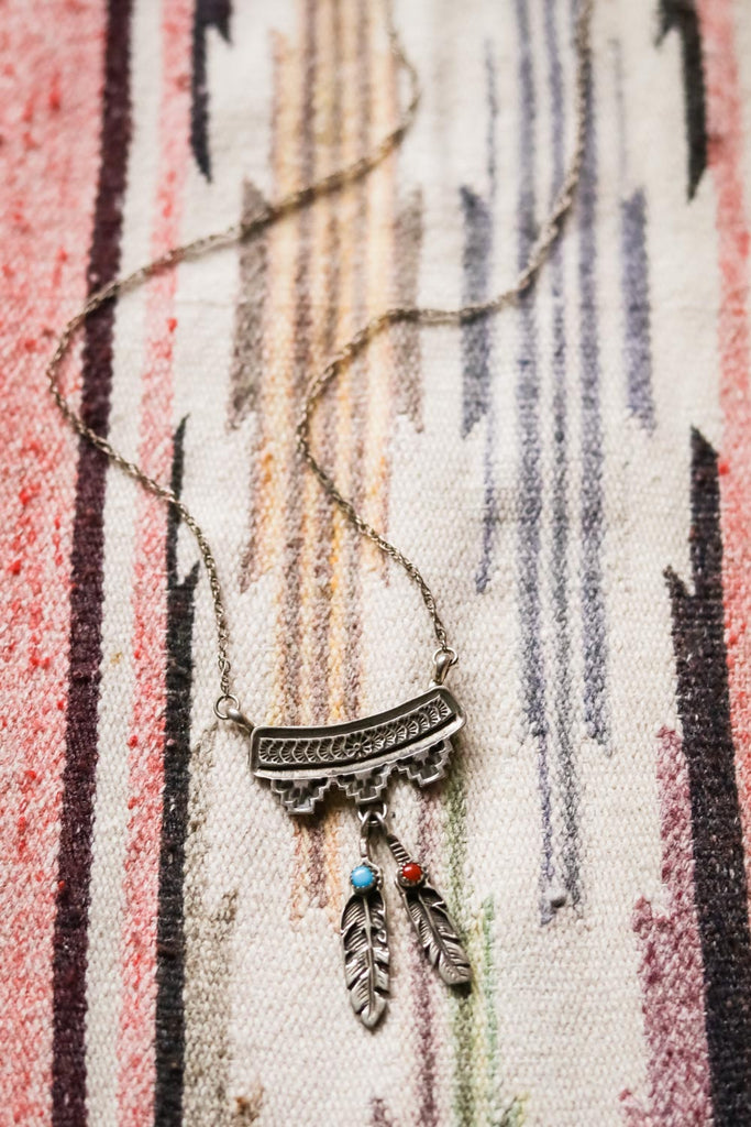 Vintage Southwest Necklace - Cowgirl Relics