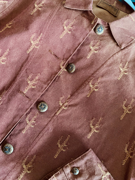 Vintage Western Cactus Jacket - Cowgirl Relics
