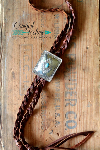 Wilco Southwest Concho Bolo Necklace - Cowgirl Relics