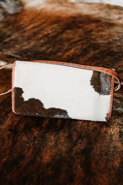 Vintage Cowhide Purse