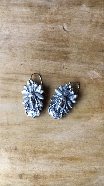Big Chief Earrings - Cowgirl Relics