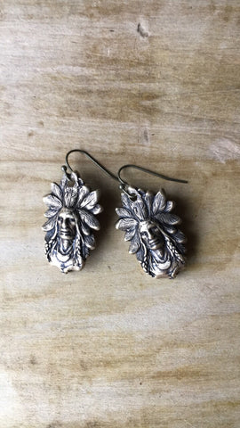 Big Chief Earrings