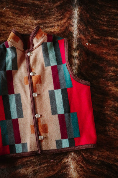 vintage native jackets reversible southwest vest