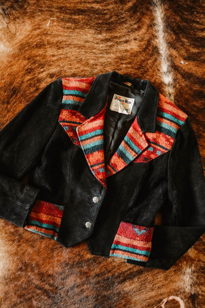 Vintage Pioneer Wear Suede Southwest Jacket