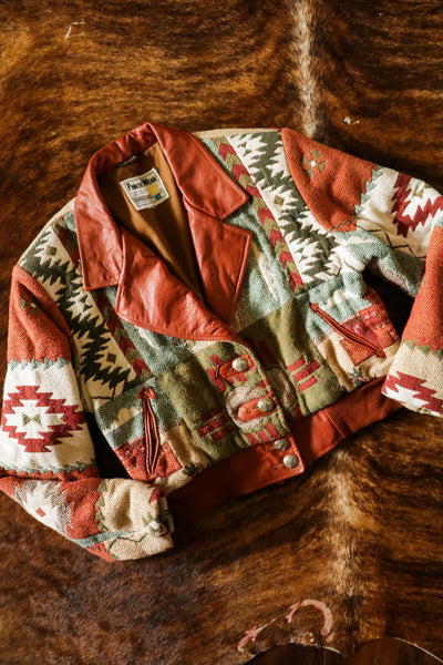 Vintage Pioneer Wear Southwest Jacket