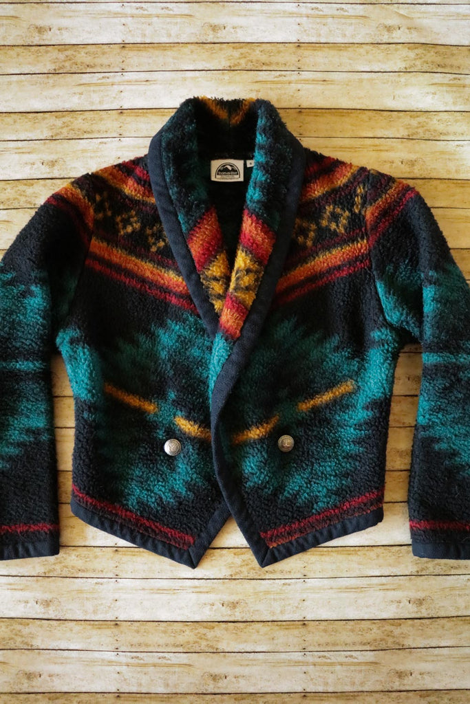 Vintage Southwest Fleece Jacket - Cowgirl Relics