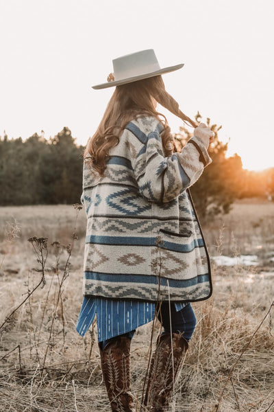 Vintage Oversized Southwest Coat