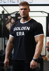 Golden Era Ringer Shirt - Black