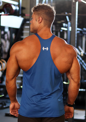 Gym Stringer: Royal Blue (VG Logo)