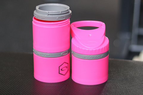 Vintage Genetics Cyclone Storage Compartment: 3x6 oz (Hot Pink) - Vintage Genetics