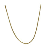 9ct Yellow Gold 375 Stamped Fine Curb Style Ladies Chain 18inch 1.3g 1mm - Richard Miles Jewellers