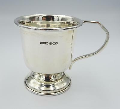 Sterling Silver Hallmarked 925 Childs Tankard Mug Cup New 69.34g - Richard Miles Jewellers