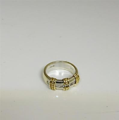 9ct White Gold Half Eternity Ladies Diamond Ring 0.25ct Size L 6.5g RRP£750