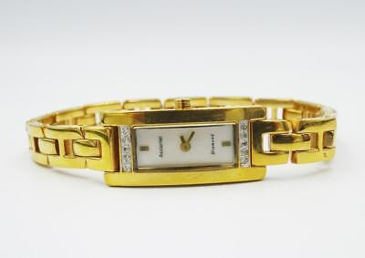 Accurist Gold Plated Discounted Ladies Diamond Set Watch LB750 RRP £200 - Richard Miles Jewellers