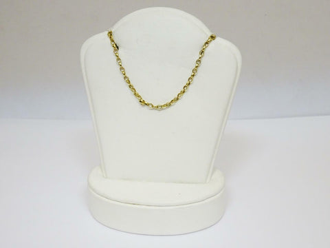 9ct Yellow Gold Unisex Belcher Round Chain 20inch 9.3g 3mm
