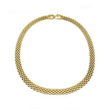 9ct Yellow Gold Flat Watch Jubilee Link Necklace 25.3g - Richard Miles Jewellers