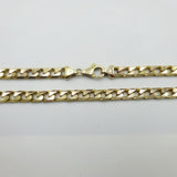 "9ct Gold Heavy Curb Chain 20"" 6mm 55.7g - Richard Miles Jewellers"