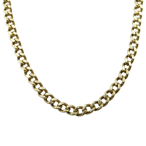 "9ct Yellow Gold Fine Curb Chain 24"" 6.5g - Richard Miles Jewellers"