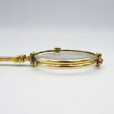 15ct Yellow Gold Detailed Vintage Antique Hand Held Lorgnettes - Richard Miles Jewellers