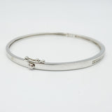 9ct White Gold Diamond Bangle 0.40ct - Richard Miles Jewellers