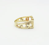 9ct Gold Mum Ring Size N