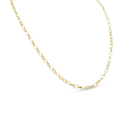 9ct Gold Belcher Chain 23 Inches
