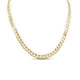 "9ct Gold Extra Long Curb Chain 28"" 8mm 57g"