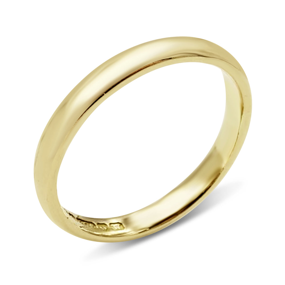 9ct Gold Vintage Wedding Band