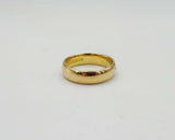 22ct Gold Wedding Band 4mm Vintage Hallmarks 1917