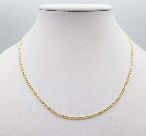 18ct Gold Curb Chain