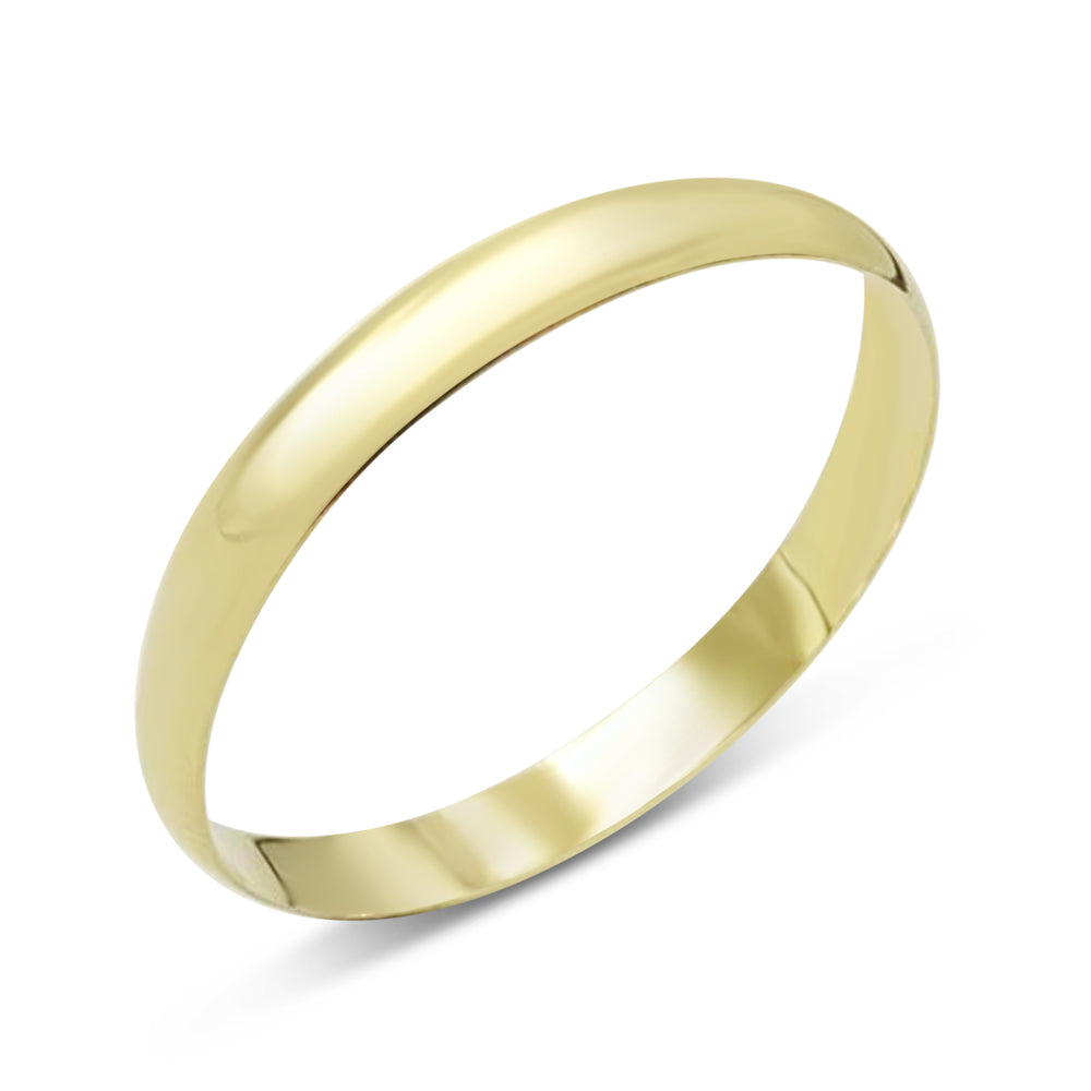 18ct Gold Wedding Band Size T1/2