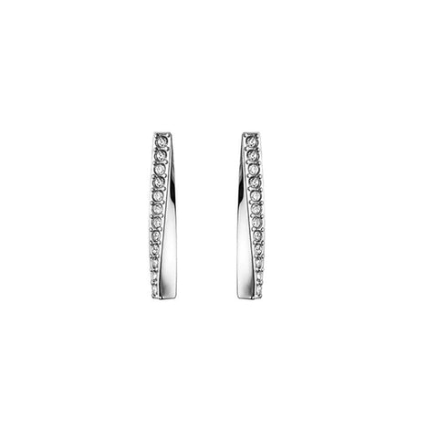 Hugo Boss Signature Ladies Crystal Earrings 1580133