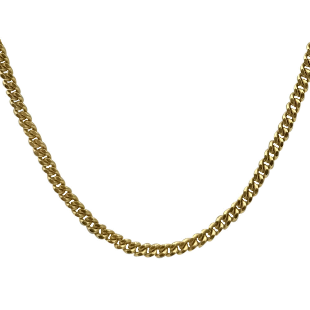 "9ct Yellow Gold Fine Curb Chain Necklace 20"" 2.6G - Richard Miles Jewellers"