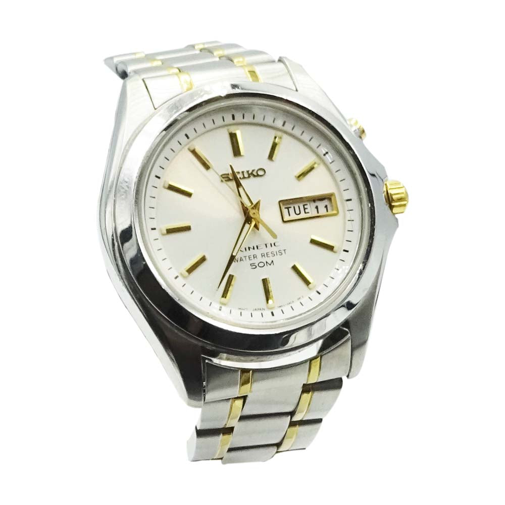 Seiko Kinetic Mens Watch 5M63
