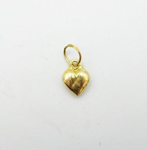 18ct Gold Small Heart Pendant