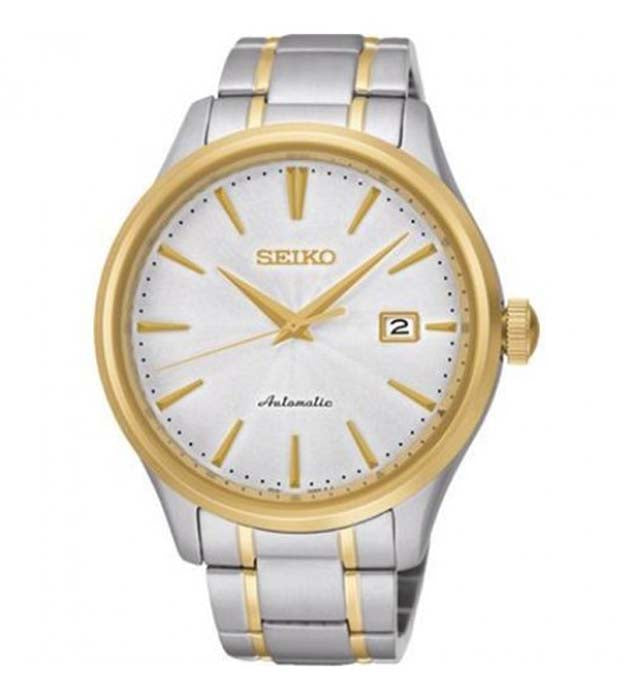 Seiko Automatic Two Tone Stainless Steel Gent's Watch SRP704K1