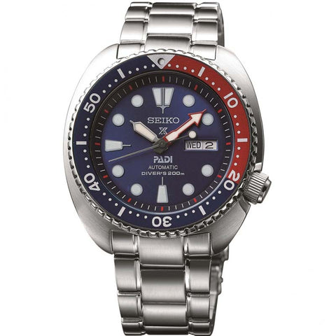 Mens Seiko Prospex Diver Padi Special Edition Automatic Watch SRPA21K1