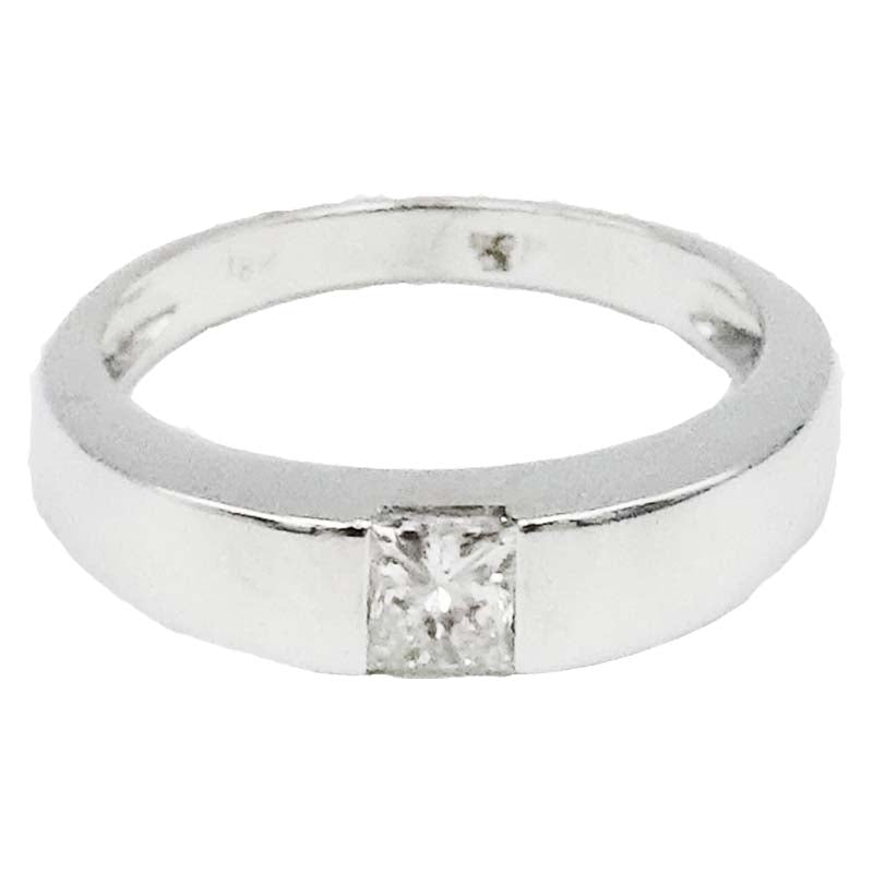 ea44a5fe9aaaec 18ct White Gold 0.30ct Clarity SI2 Colour H Diamond Single Stone Ladies  Engagement Ring Size