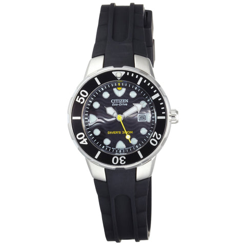 Citizen Ladies Divers Watch Wave Design EP6010-03E RRP £189
