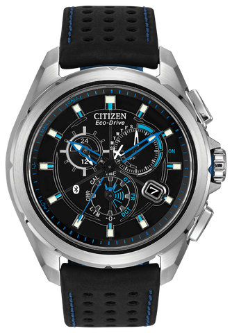 Citizen Eco-Drive Mens Blue Proximity Watch AT7030-05E RRP £399 - Richard Miles Jewellers