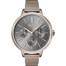 Hugo Boss Symphony Ladies Rose Gold Watch 1502424 - Richard Miles Jewellers