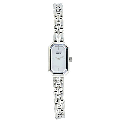 Citizen Ladies Eco-Drive Silhouette Watch Mother Of Pearl EG2750-50D RRP £189 - Richard Miles Jewellers