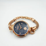 Versus Versace Stainless Steel Rose Gold Mesh Bracelet Ladies Watch S6307 - Richard Miles Jewellers