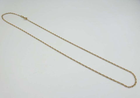 9ct Yellow Gold Prince of Wales Twist Chain 18""