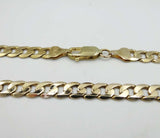 "9ct Yellow Gold Curb Chain Necklace 18"" 19.8g"