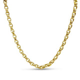 9ct Yellow Gold Belcher Chain Necklace 20""