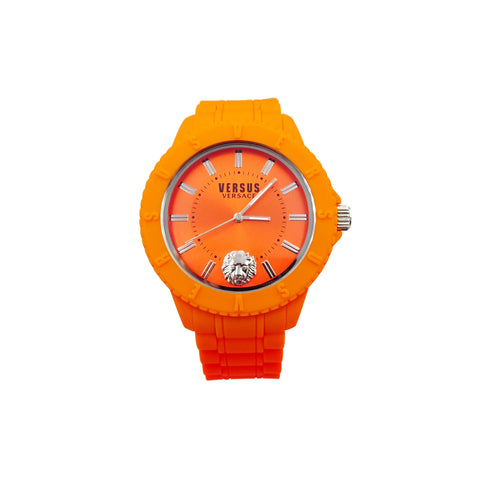 Versus Versace Tokyo Watch With Soft Orange Rubber Strap SOY10 - Richard Miles Jewellers