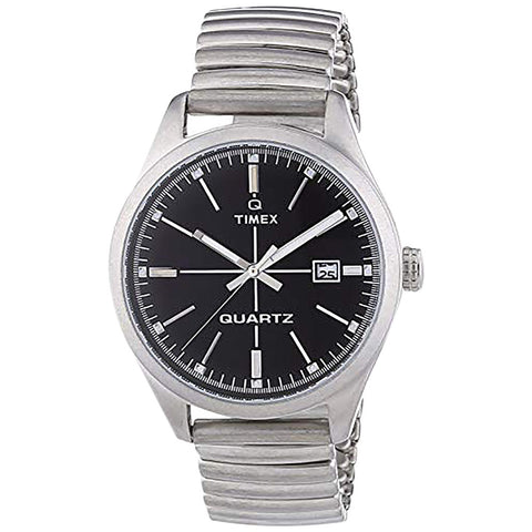 Timex T2N399ZB Original Men's Watch With Black Dial Expansion Band
