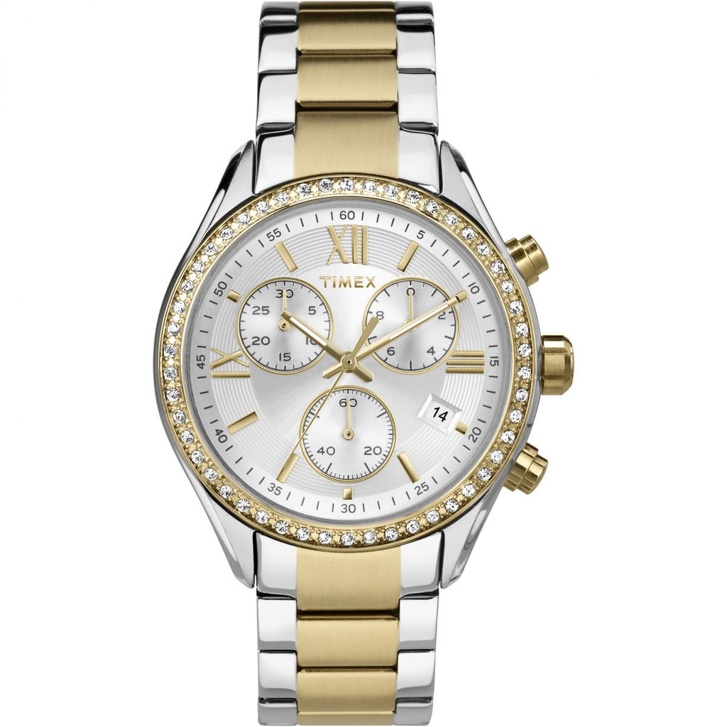 Timex TW2P67000 Ladies City Chronograph Watch - Richard Miles Jewellers
